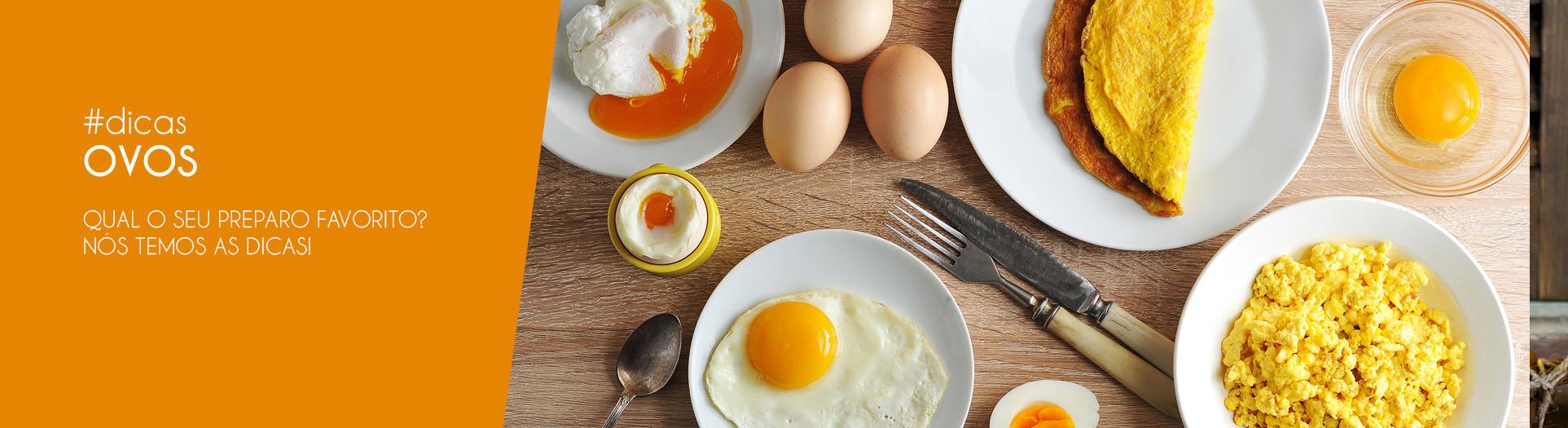 dicas para preparar ovos