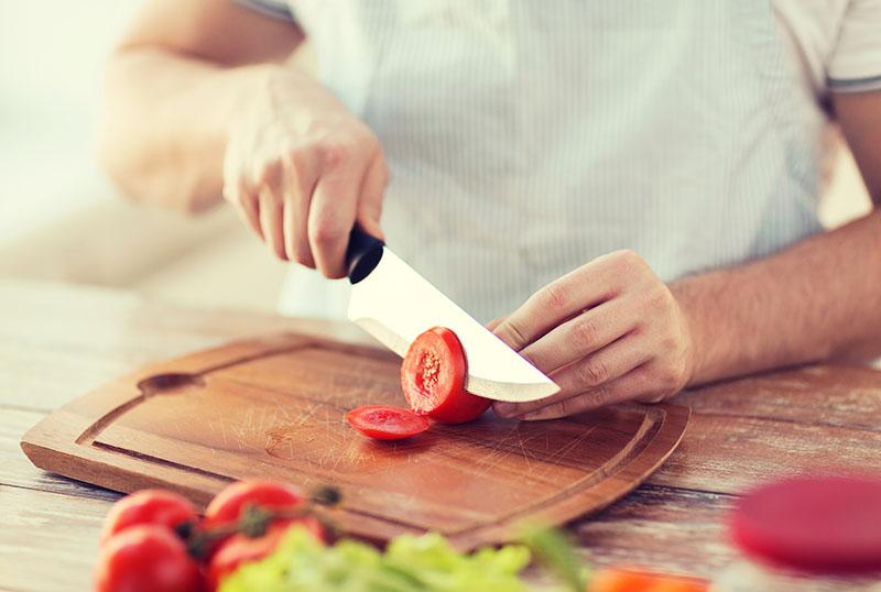 uso correto facas de cozinha