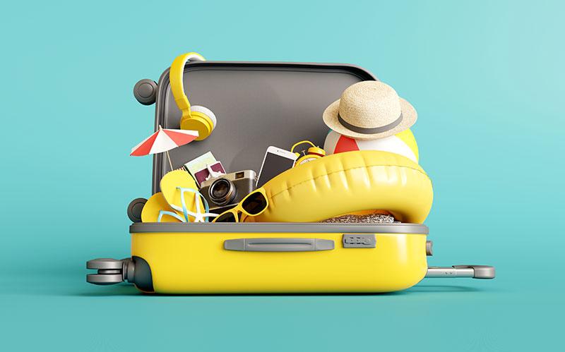 dicas para arrumar mala de viagem