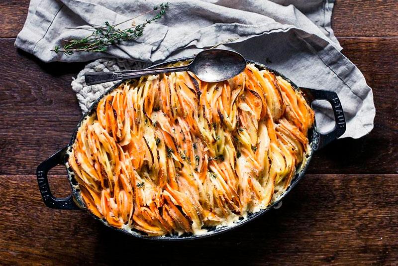 batata gratinada