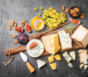 como montar tábua de queijos