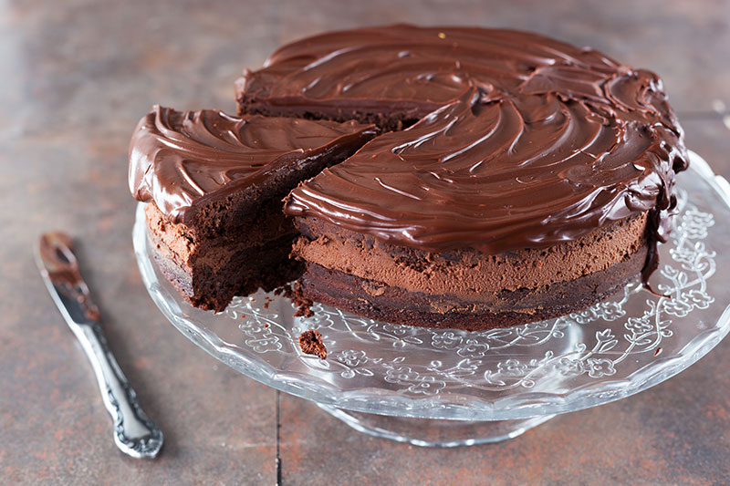 cobertura ganache de chocolate
