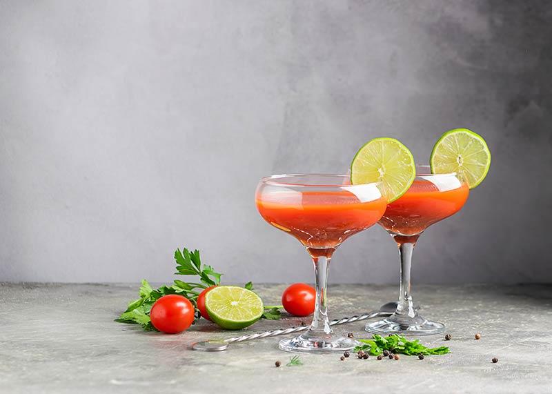ervas para drinks