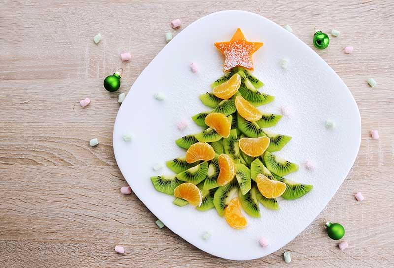 decorando a mes apara o natal