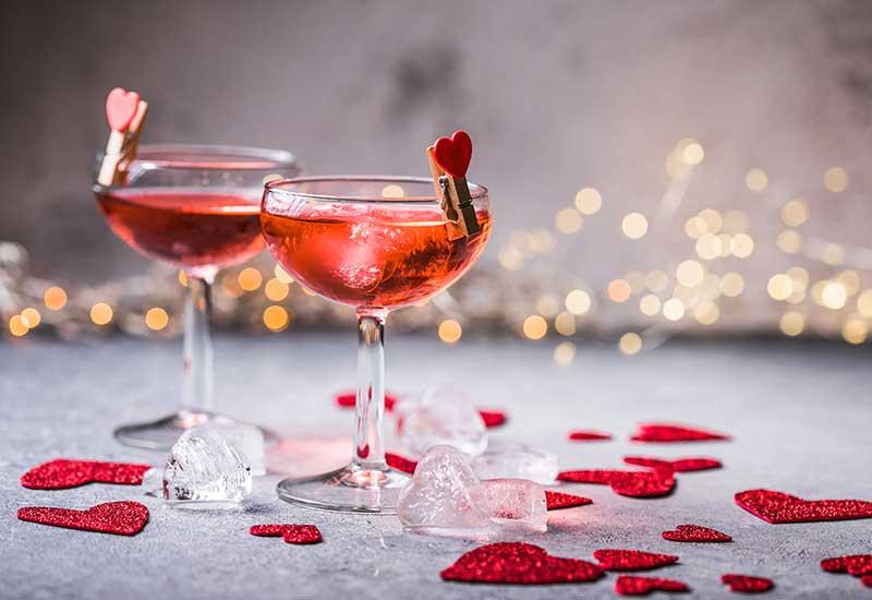drinks românticos