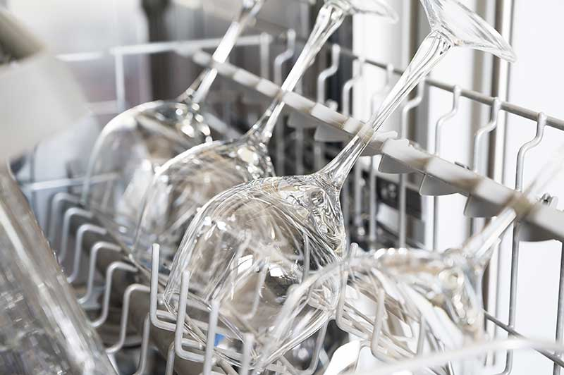 como limpar taças